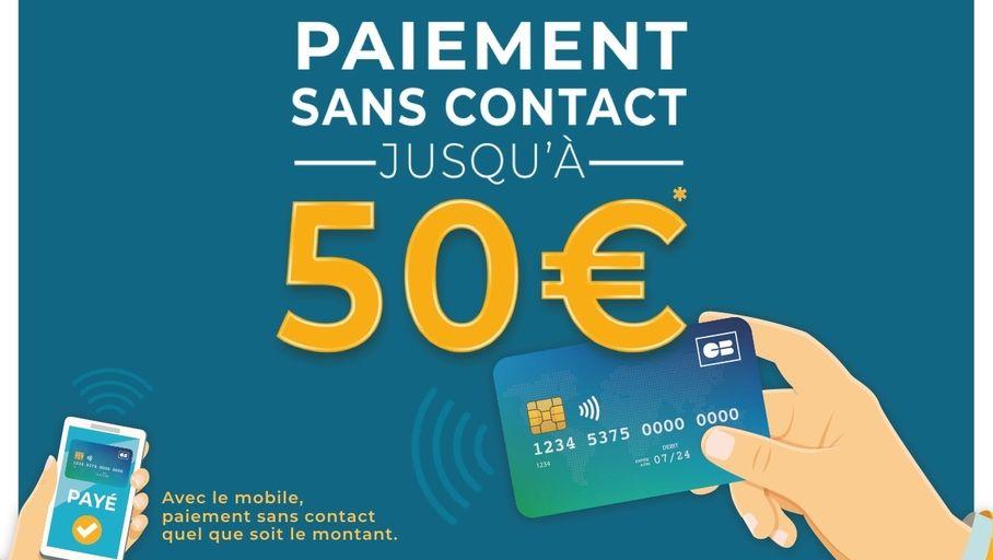 Carte Bancaire Le Plafond Des Paiements Sans Contact Passe A 50 Les Numeriques