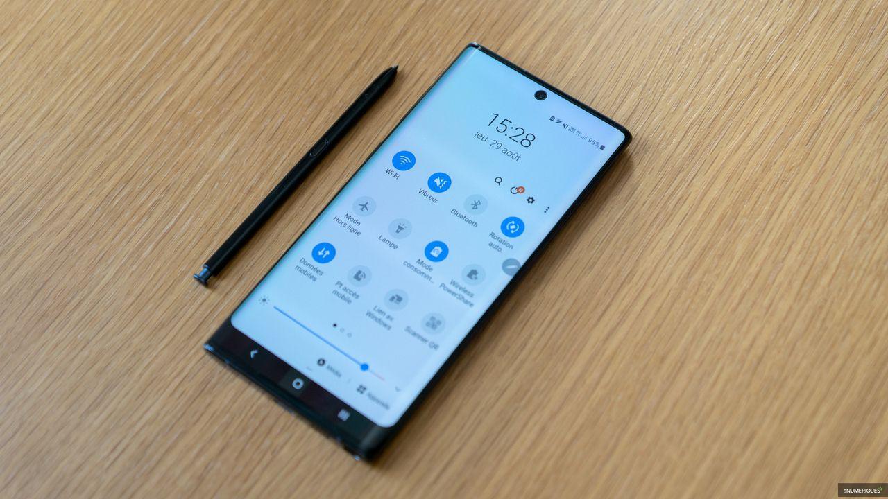Bon Plan Le Smartphone Samsung Galaxy Note 10 A 659 Les Numeriques