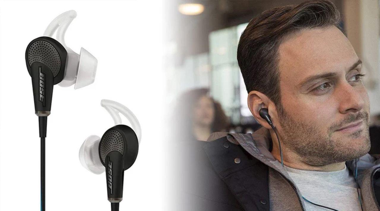 Bon plan – Les écouteurs à réduction de bruit active Bose