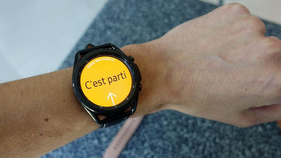 Samsung : une Galaxy Watch 3 orientée vers la santé
