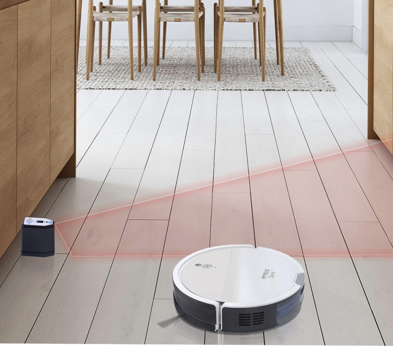 Labo – L'excellente filtration de l'aspirateur robot Amibot