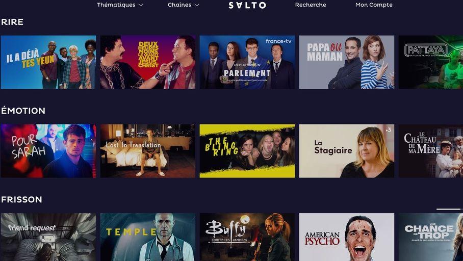 Que vaut Salto, la plateforme SVOD de TF1, France TV et M6 ? - Les Numériques