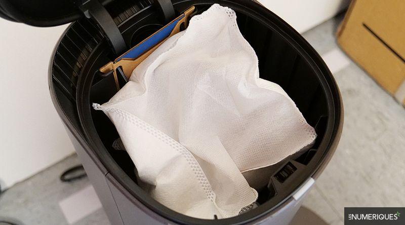 Labo – La vidange automatique très efficace de l'aspirateur