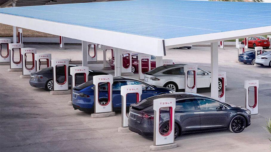 Superchargeurs Tesla : des tarifs à la hausse, mais toujours concurrentiels - Les Numériques
