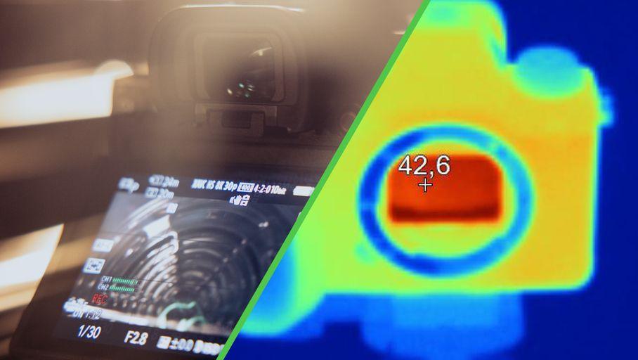 Labo – Pour tester la chauffe en vidéo 8K, on a passé le Sony Alpha 1 (A1) au four ! - Les Numériques