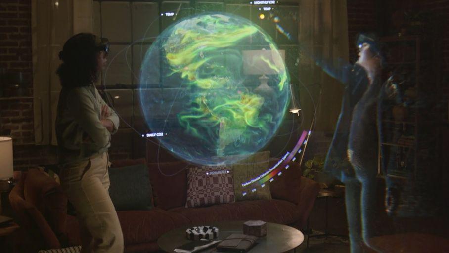 Avec Mesh, Microsoft veut démocratiser l'hologramme - Les Numériques