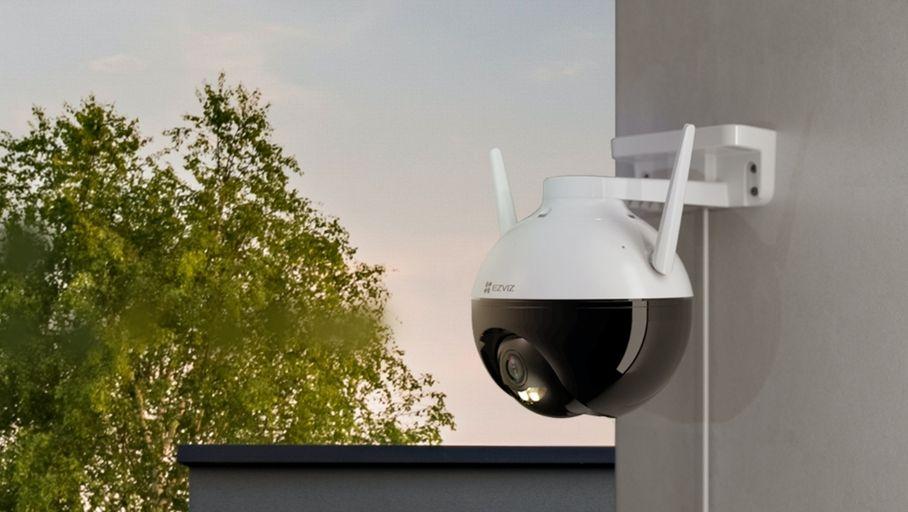 Ezviz C8C : une première caméra 360° d'extérieur pour le fabricant chinois - Les Numériques
