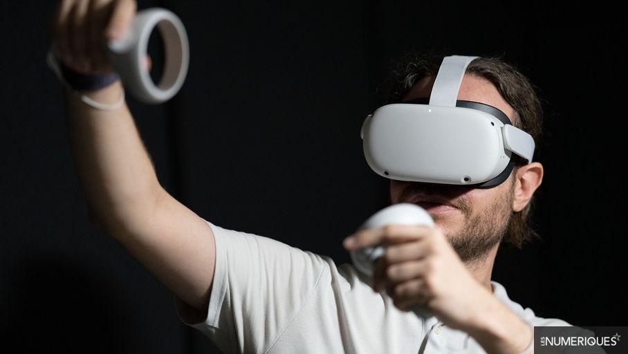 Réalité virtuelle : l'Oculus Quest 2 passe à la connexion PC sans-fil et au 120 Hz