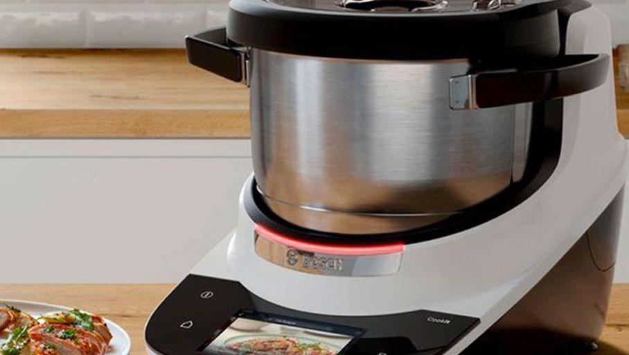 Le robot-cuiseur Bosch Cookit arrive au labo des Numériques