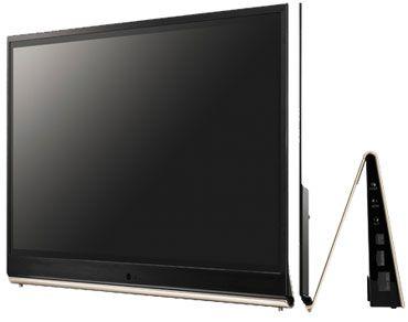 lg annonce un tv oled 55 pouces pour 2012 les num riques. Black Bedroom Furniture Sets. Home Design Ideas