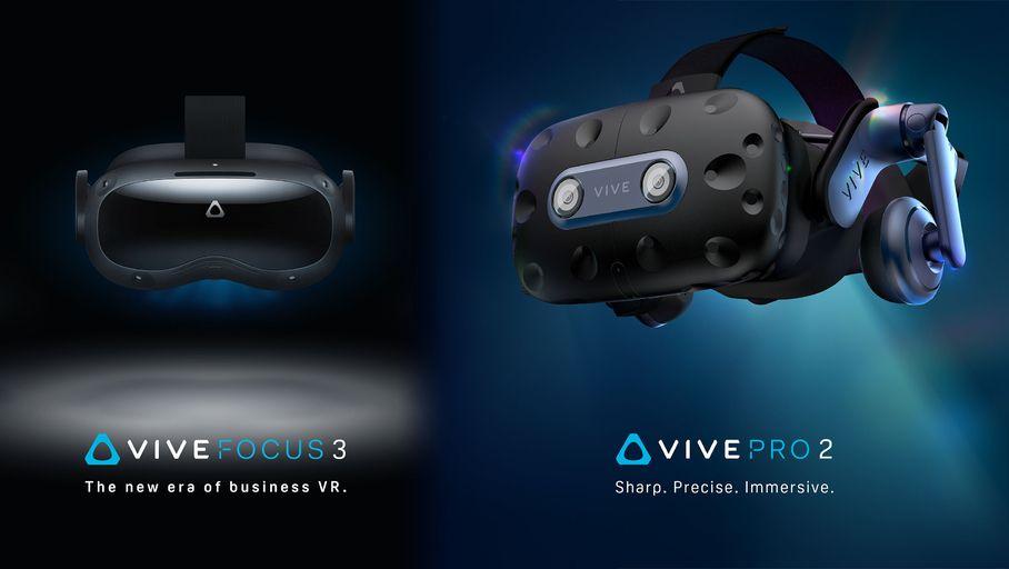 HTC présente les Vive Pro 2 et Vive Focus 3, ses nouveaux casques VR ultra-haute définition