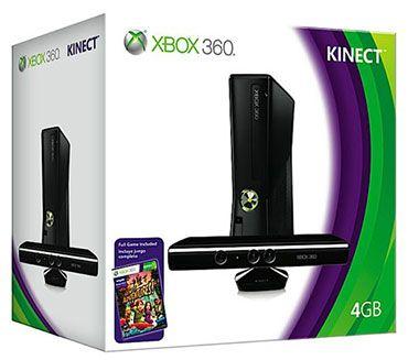 XBOX 360 S Kinect 4 Go