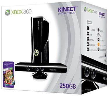 XBOX 360 S Kinect 250 Go