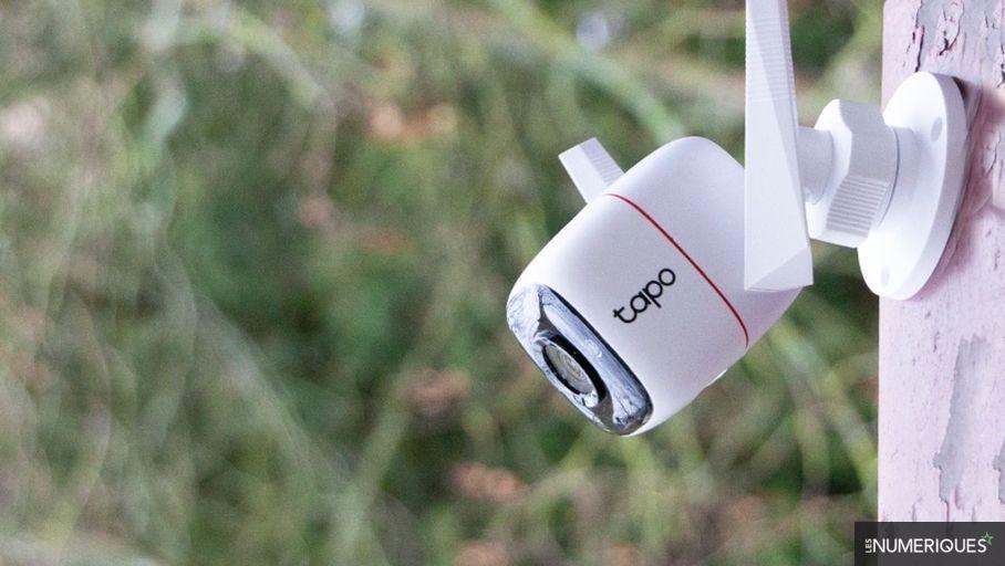 Bon plan – La caméra de surveillance d'extérieur TP-Link Tapo C310 à 37 €