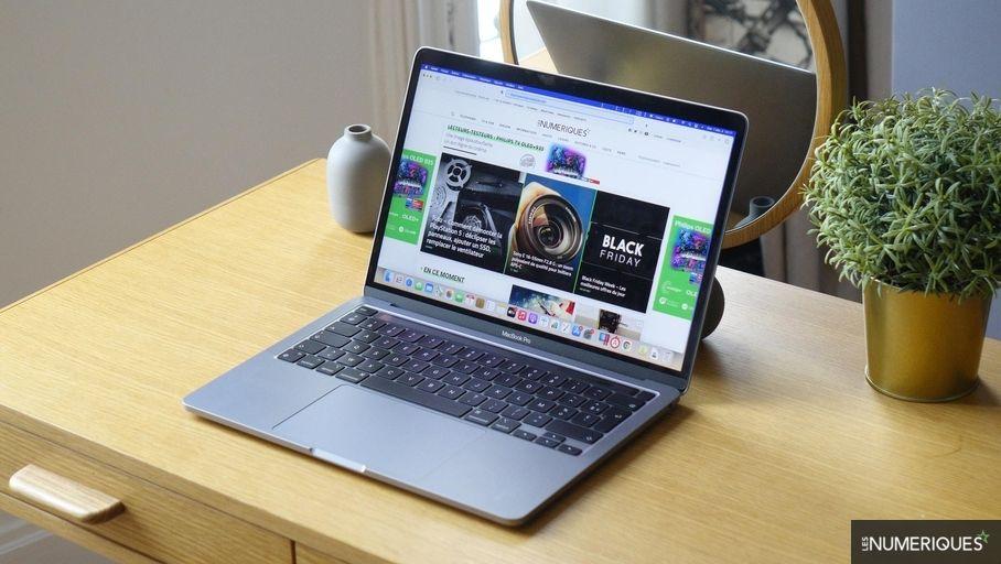 Bon plan – L'ordinateur portable Apple MacBook Pro 13 M1 à 1512 €