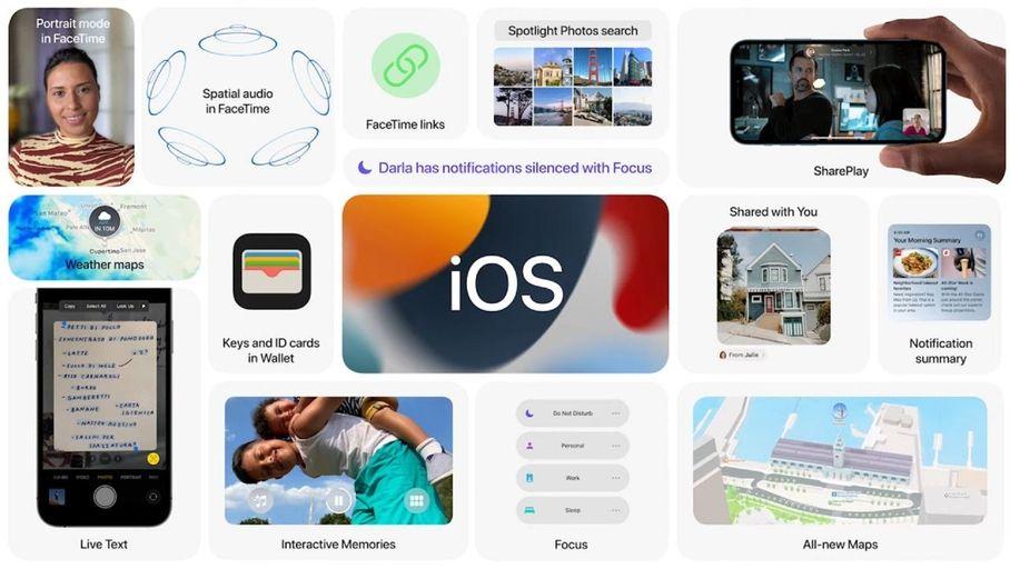 iOS 15, iPadOS 15, watchOS 8 et tvOS 15 sont là : ce qui va changer - Les Numériques