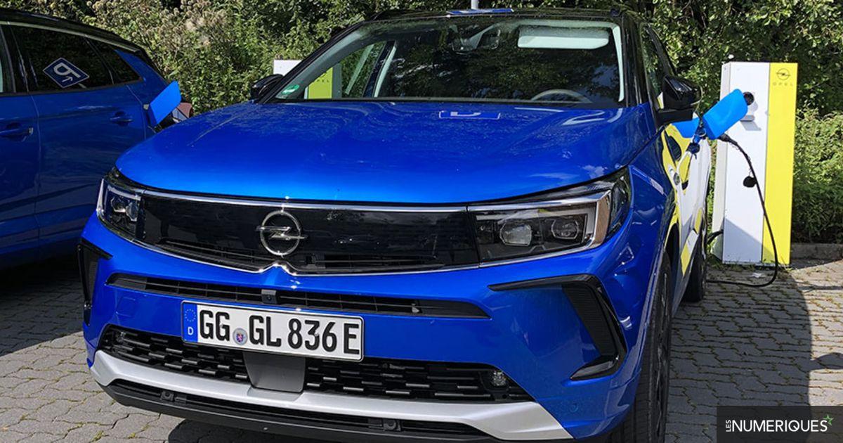 Prise en main Opel Grandland Hybrid4 : restylage numérique, mais motorisation identique