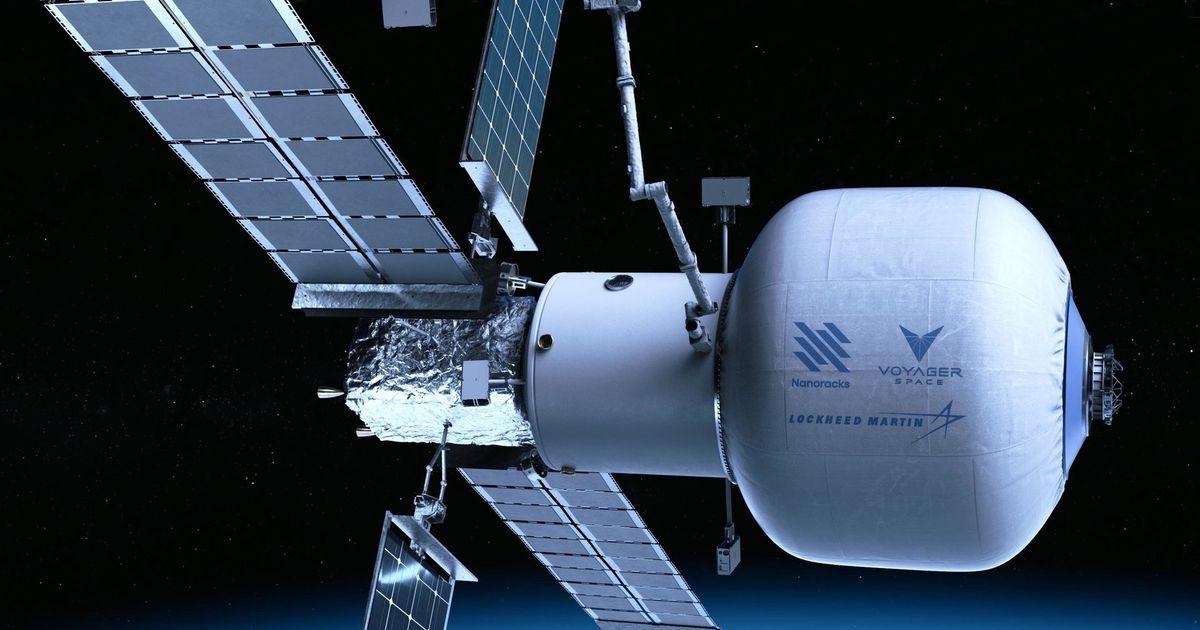Coup d'envoi du projet Starlab, future station spatiale commerciale