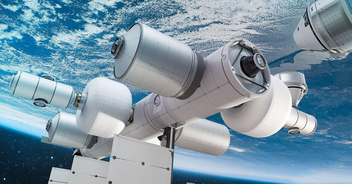 Jeff Bezos présente Orbital Reef, future station spatiale de Blue Origin