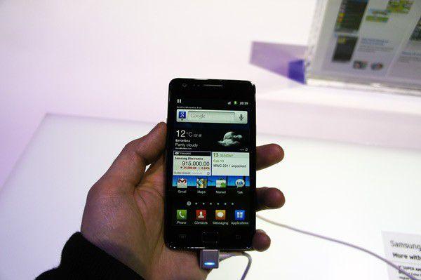 Samsung galaxy s2 face