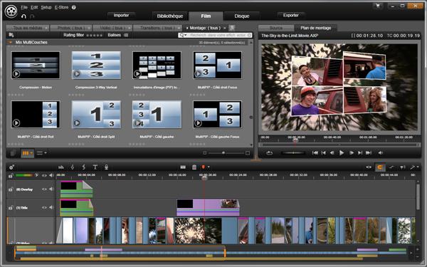 logiciel montage video avid gratuit