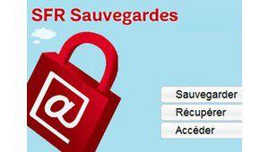 SFR protège et restaure les fichiers de ses abonnés