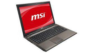 MSI GE640-036FR, 15,6 pouces Core i5 et GT 540M