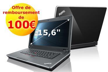 Lenovo ThinkPad Edge NVLENFR promotion