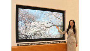 Sharp expose un LCD 85'' 4320p