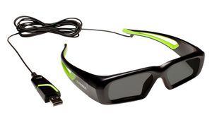 Des lunettes 3D filaires chez Nvidia