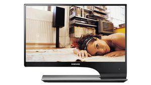 Samsung T27A950 : après réglage, il redresse la barre !
