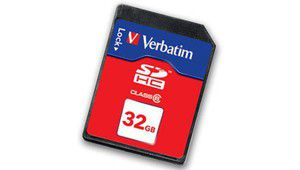Test cartes mémoire :  Verbatim SDHC HD Video 16 Go et 32 Go Class 6