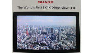 IFA 2011 : nos impressions sur le téléviseur Sharp 8K de 85 pouces