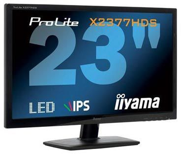 Presentation iiyama x2377hds