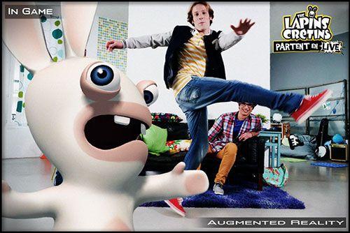 The Lapins Crétins Partent en Live Kinect