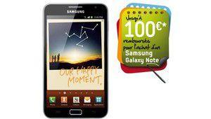 [MAJ] Samsung Galaxy Note : 100 € remboursés