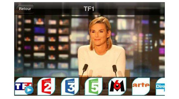 Application tv bouygues telecom iphone