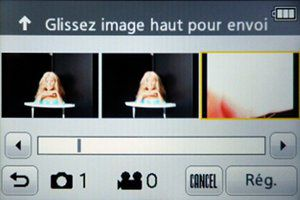 FX90 wifi envoi image confirmation