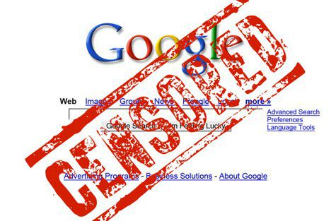 Google Censored