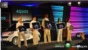 CES 2012 : Sharp veut libérer le TV du salon