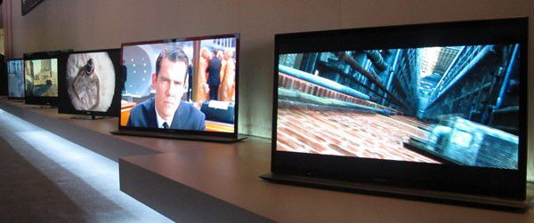 Sony gamme tv 2012