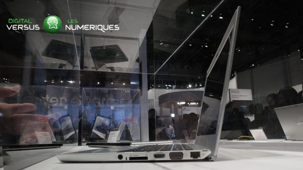 Ultrabook intel sony 2012