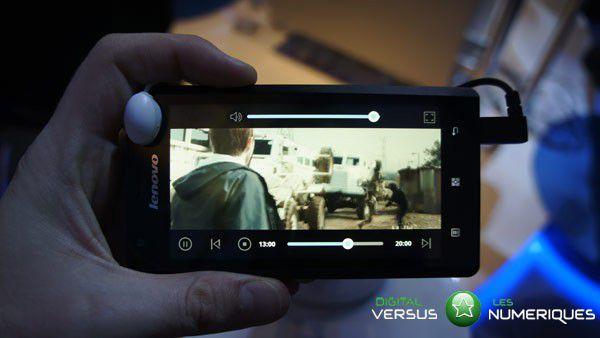 lenovo K800 video