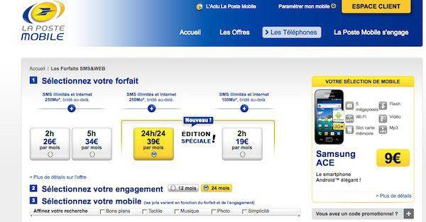 Offres La Poste Mobile