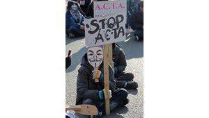 Anti-ACTA, Anonymous reviendra le 25 février