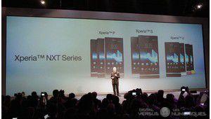 MWC 2012 : Sony (re)lance son Xperia S, puis le P et le U