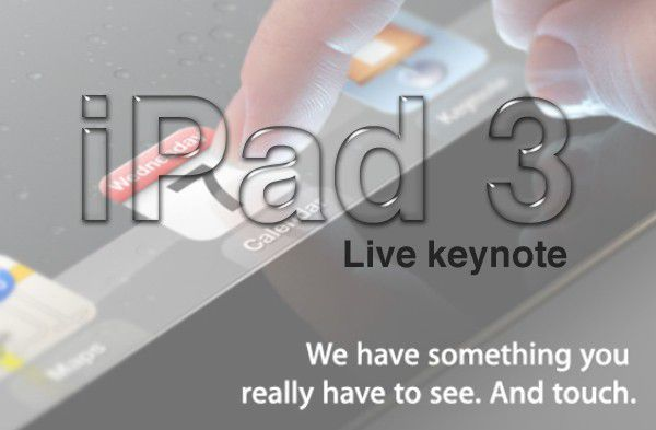 Ipad3 livekeynote