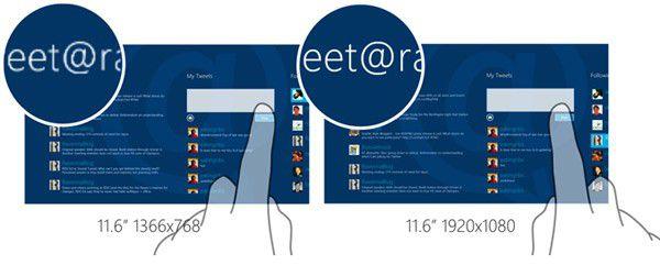 Windows 8 dpi