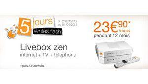 Orange casse le prix de ses offres Livebox zen