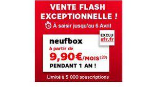 Les offres Neufbox à moitié prix !